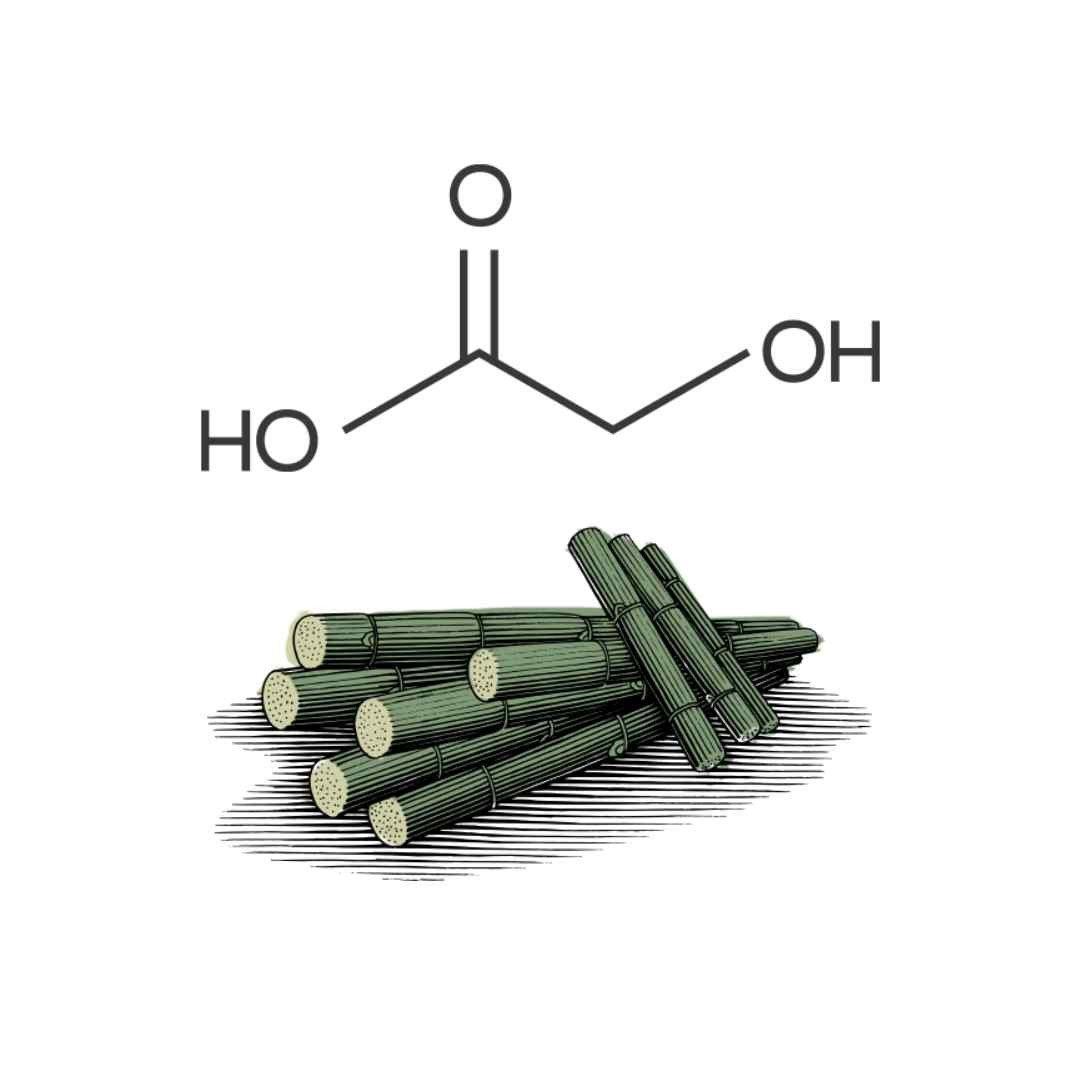 Raio X do Ácido Glicólico: o melhor amigo da pele oleosa